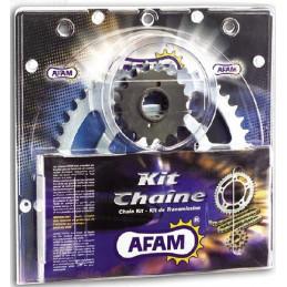 KIT CHAINE RENFORCE YFZ 450 AFAM CHAINE 520 ACIER TYPE XRR2 03/09 et 12/13