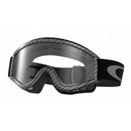 Masque LUNETTES OAKLEY L Frame Carbon Fiber écran transparent