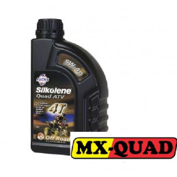 HUILE SILKOLENE 5W40 SPECIAL QUAD 4T 100% SYNTHESE 1L