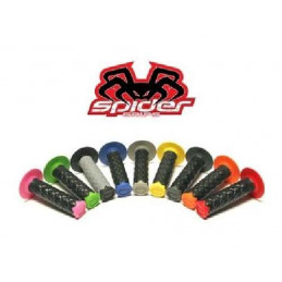 POIGNEES SPIDER POUR MOTO 22mm+24mm